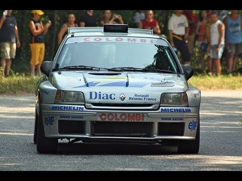 renault clio maxi kitcar rally ragnotti