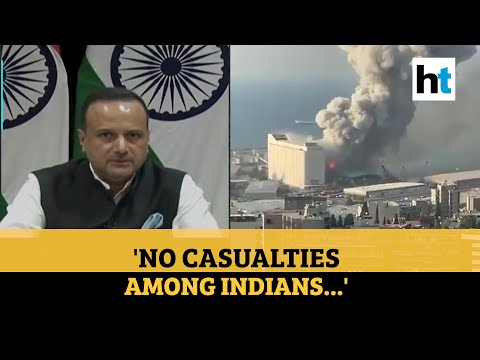 Beirut blast: India to provide help, govt has sought damage assessment