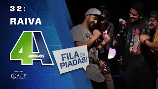 Video RAIVA - FILA DE PIADAS - #32 MP3, 3GP, MP4, WEBM, AVI, FLV Agustus 2018