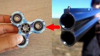 Сегодня я буду пробовать раскрутить спиннер ружейным выстрелом. Если все получится, то спиннер должен раскрутиться до скорости 1500 оборотов в секунду! Один вопрос - выдержит ли это спиннер?Группа ВК: https://vk.com/skaytop1Скай Топ: http://www.youtube.com/channel/UCWiR9Ki8oDHZKt3TgfhJ-pw?sub_confirmation=1