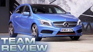 Mercedes Benz A-Class (Team Review) - Fifth Gear by Fifth Gear