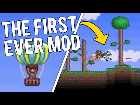OLDEST TERRARIA MOD! What was Terraria's First Ever Mod? (видео)