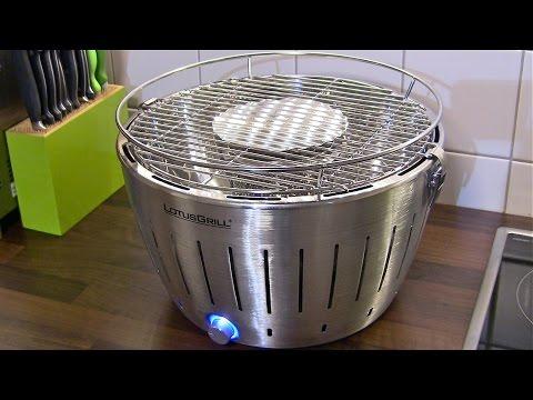 LotusGrill der rauchfreie Holzkohlegrill-Der Lotusgrill ist der ideale Grill für Balkone