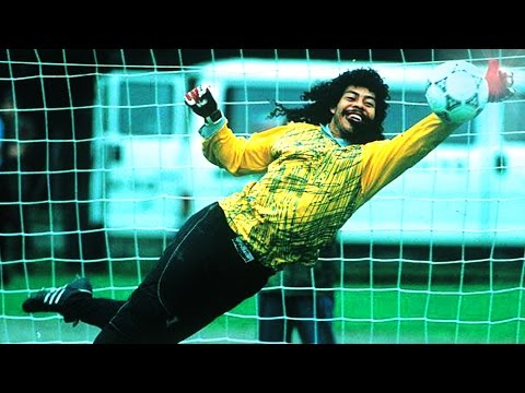 Rene Higuita ● Saves Compilation ► EL LOCO