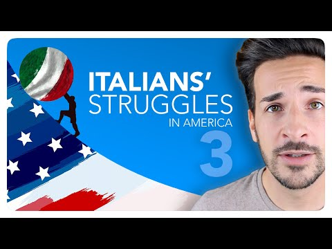 [Ep.3] AMERICANS' EXPECTATIONS OF ITALY ● Italians' Struggles in America