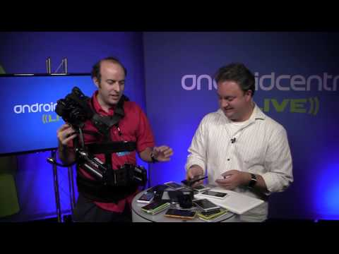 Android Central Live @ SDC13: Nicolas has the coolest toys