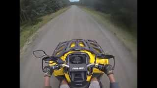 10. Can Am Outlander 500 xt Top Speed Test