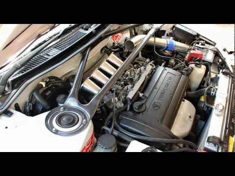 4age 20v - Just installed some 110mm trumpets (ram tubes/velocity stacks) on my 4A-GE 20-valve Blacktop engine. Open trumpets, no filtration. Engine is in a 1993 Toyota...