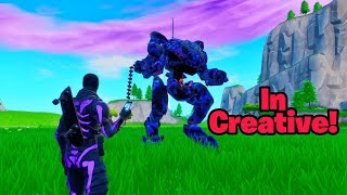 How to get MECH ROBOT IN CREATIVE (B.R.U.T.E in creative)