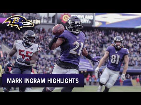 Mark Ingram 2019 Season Highlights | Baltimore Ravens