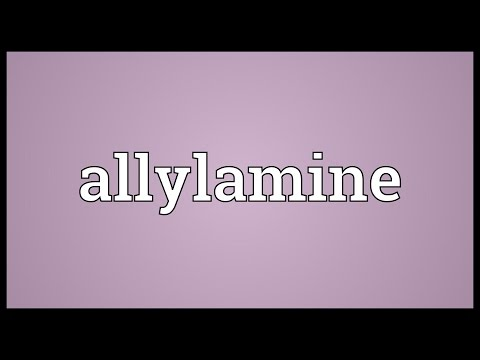 Allylamine Meaning