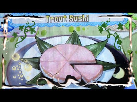 Cooking Mama 3 - Trout Sushi 100%