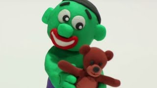 Video Baby Hulk nostalgy 💕 Superhero Play Doh Stop Motion movie MP3, 3GP, MP4, WEBM, AVI, FLV Juli 2018