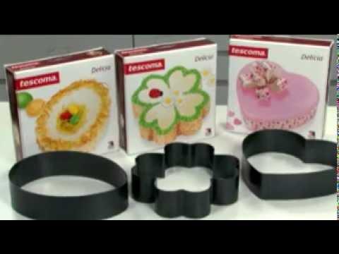 Видео Формочки для печенья из металла  Форма для выпечки четырехлистник DELICIA Tescoma 623346