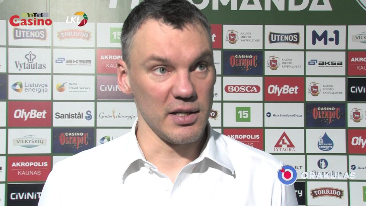 """Š. Jasikevičius: """"Trenerių štabas tokių rungtynių ir tikėjosi"""""""