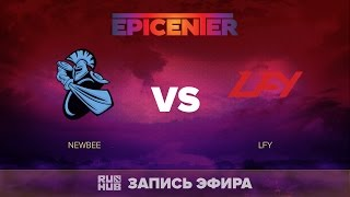 NewBee vs LFY, EPICENTER CN Quals, game 3 [Lex, 4ce]