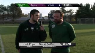 MVNU Women's Soccer Coach Daniel Seiffert (Postgame Taylor)