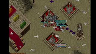 Ultima Online - The Dungeon of Sin (Part 2) Battle vs. The Fallen on the UOEvolution Shard