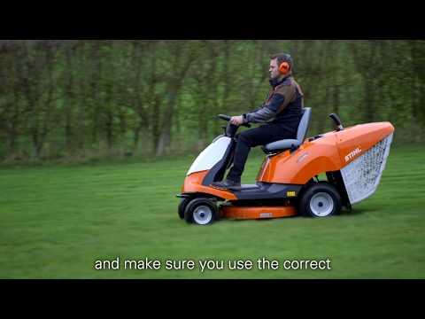 Садовый трактор бензиновый STIHL RT 4082.1 - видео №1