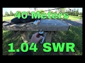 Analyze SWR | Chameleon MPAS Antenna | RigExpert Antenna Analyzer