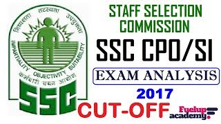 In this video we shall discuss about SSC CPO SI/ASI 2017 Exam Analysis & Cut-off. Most of the exams including Bank Examinations like IBPS - PO and Clerk , RAILWAYS,SSC, BANK PO, RRB PO, RBI CLERK, SSC MTS, LIC, RBI and other competitive exams consist of questions from this topic and many students facing difficulty while solving these questions. Here, We tried to help you by providing these daily videos. You will definitely find change in your speed and accuracy while solving these type of questions.SSC CPO SI/ASI 2017  Exam Pattern  Cut-off: https://www.youtube.com/watch?v=IYcaafkfX-c&t=3sSafe Score in SSC CPO SI/ASI 2017 Prelims/Mains  SSC CPO SI/ASI 2017 : https://www.youtube.com/watch?v=G8cbk1SWxqo&t=12s**************************************************Web : www.fuelupacademy.com**************************************************Like & Follow Our Facebook Page: https://www.facebook.com/fuelupacademy/Follow us on Twitter: https://twitter.com/fuelupacademyFollow us on Instagram : https://www.instagram.com/fuelupacademy/*********************************************Contact : fuelupacademy@gmail.comSubscribe Us :   https://www.youtube.com/channel/UCKQ5AV1FRAVRy381SVlsDqQ?sub_confirmation=1