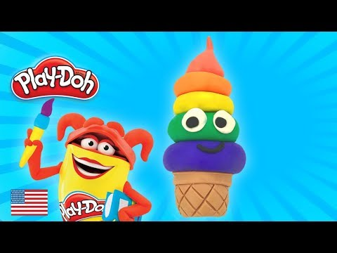 Video Play Doh Frozen Anna and Elsa Surprise Eggs Ice Cream Rainbow Sparkle Peppa Pig Paw Patrol download in MP3, 3GP, MP4, WEBM, AVI, FLV January 2017