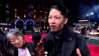"""Unbroken: Miyavi """"The Bird"""" London Premiere Movie Interview"""