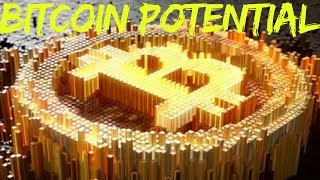 Bitcoin Potential.  Kenya: Electronic Cash System Case Study Part 9  http://www.financial-spread-betting.com/academy/bitcoin.html PLEASE LIKE AND SHARE THIS VIDEO SO WE CAN DO MORE!Use case: Kenya- Kenyan banks tried lobbying the government to slow growth - it made little difference- Two thirds of Kenyans use M-Pesa- 43% of national GDP flow through it- 40% of Kenyans have a bank account- Financial inclusion with use M-Pesa reported to 80% of the population- Financial inclusion without use M-Pesa drops to 23% of the populationBUT- M-Pesa is not a money without borders – trade with anyone outside Kenya is still subject to high remittance costsRemittance fees: Bitcoin- Transfer of Bitcoin to anyone in the world from wallet-to-wallet is near to 0%- Transfer using a BTC service provider (Coinbase, Bitpay) is about 1 %- (2013) Global transaction fees at retail point of sale were $260 billion on over $10 trillion of salesHad Bitcoin been used:- Fees would have been $104 billion – saving of almost $150 billion- Small merchants would benefit most as payment processing fees reduced by halfPotential growth for Bitcoin- 7 billion people living in the world today- Only 2 billion are banked / participate in ecommerce- Yet 5.5 billion have at least some access to the internet- 3.5 billion who participate in ecommerce do not have access to necessary financial infrastructure to sell / receive goods / services- (2013) Global commerce estimated $1.2 trillion USDBTC grown to 10% of global commerce - $6,000 per BTC- (2013) Current global holding of gold estimated at $7 trillion USDBTC replaced 5% of gold holding - $17,000 per BTC- (2013) Global money supply estimated at $250 trillionBTC made up just 1% - $119,000 per BTC- U.S. stock market estimated at $22 trillionCombined cryptocurrency market is estimated at $100 billion