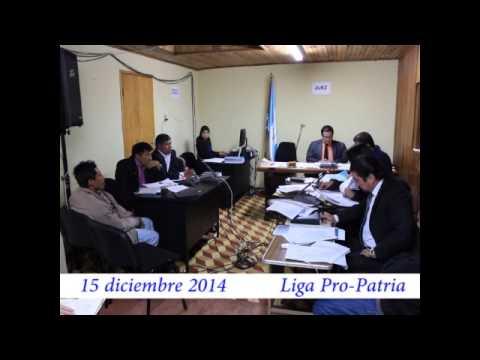 """Video. """"1a Audiencia secuestro de pobladores (1 de 2)"""" (15 dic 2014)"""