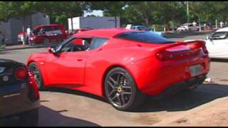 TWO 2010 Lotus Evora Walk Around On Road