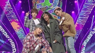 《EXCITING》 WINNER(위너) - EVERYDAY @인기가요 Inkigayo 20180422