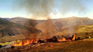 Broto Spain  City new picture : Prescribed fire in Asín de Broto, NE-Spain (1)