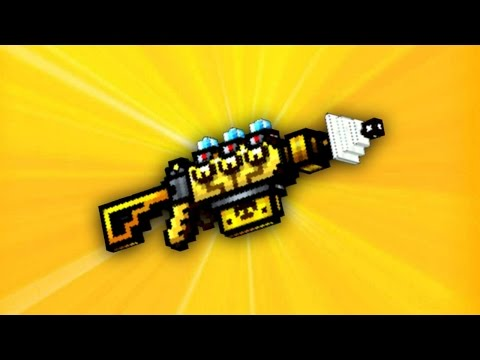 Pixel Gun 3D – Solar Power Cannon UP1 [Review]