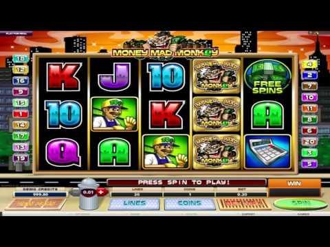 Free Money Mad Monkey slot machine by Microgaming gameplay ★ SlotsUp