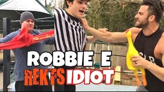 "CODE GRIM SAVES $ AT http://www.wrestlecrate.co.uk/GTS wrestling starts off with a cringe redneck destroying wrestle crate uk and robbie e issues an intense challenge after a crazy match in this professional wrestling ppv entertainment video!Save 10% on your wrestling figures with promo Code ""GRIM"" here: http://www.ringsidecollectibles.com/Merchant2/merchant.mv?&DHPlease rate comment and subscribe to this channel for the most fun wwe style wrestling channel on youtube! This is not a real fight it is professional wrestling style wwe entertainment. Dont miss daily episodes from the greatest toy collector of all time, GRIM!OUR SECOND CHANNEL: http://www.youtube.com/user/kidlockdmhOFFICIAL WEBSITE: http://grimstoyshow.com/GET GRIMS T-SHIRTS AT PRO WRESTLING TEES: http://www.prowrestlingtees.com/related/grims-toy-show.htmlFOLLOW US ON TWITTER https://twitter.com/GrimsToyShow Grims Toy Show does NOT have a FACEBOOK GRIM'S fan run INSTAGRAM account @GTSAMABASSADOR"