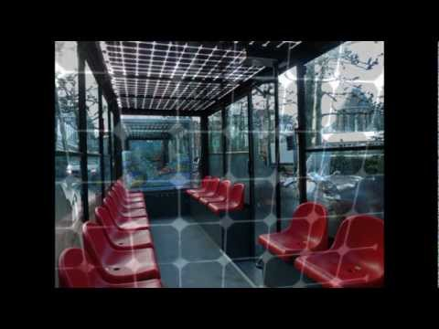 Netherlands Limburg Maastricht Solar Train Door centrum van Maasticht met zonnetrein