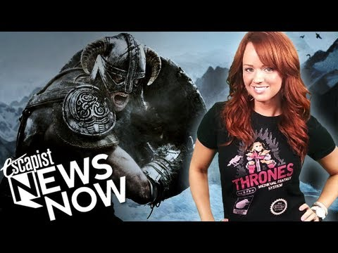 skyrim update - Subscribe to The Escapist! http://bit.ly/Sub2Escapist Escapist News Now with Andrea Rene Follow Andrea on Twitter @andrearene Skyrim Patch 1.9 Adds Legendary...