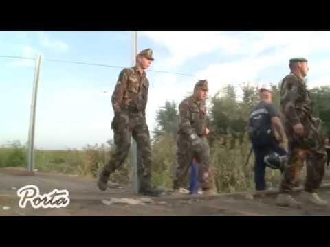 A migránsválsággal kapcsolatban tartott sajtótájékoztatót Vécsey László Kerepesen