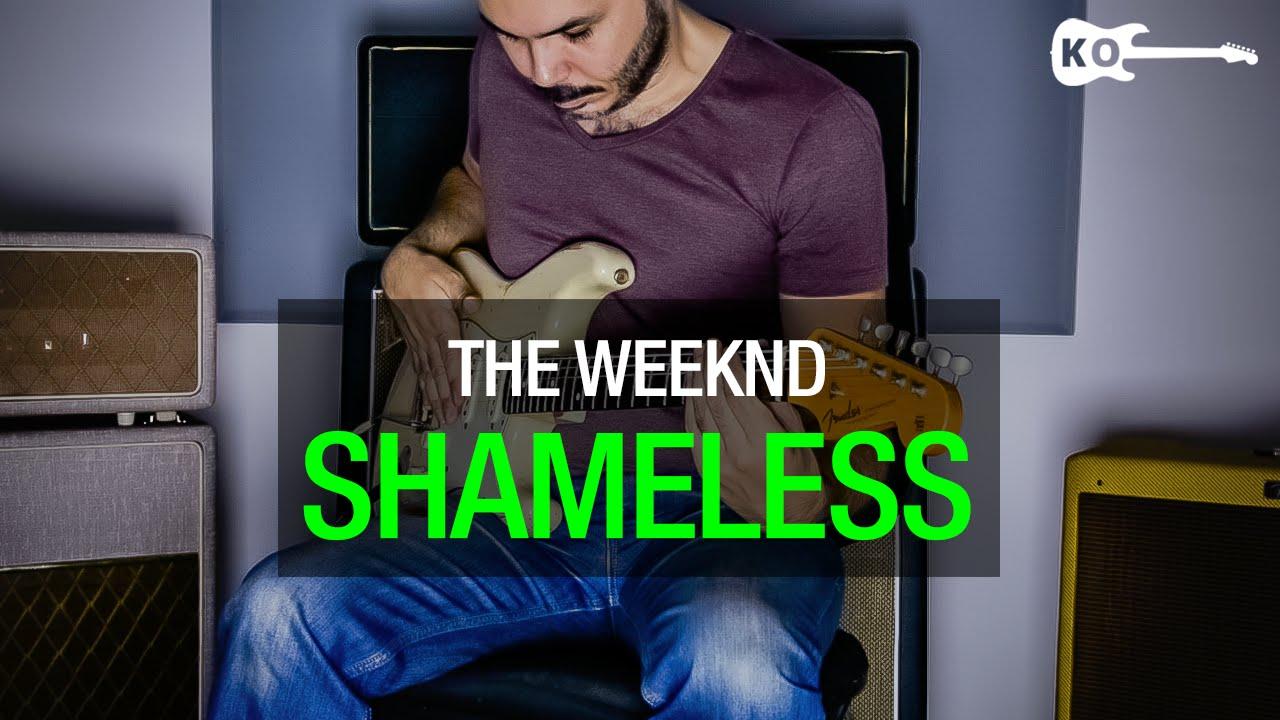 The Weeknd – Shameless – Electric Guitar Cover by Kfir Ochaion