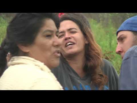 Unas 50 personas comenzaron a lotear un terreno ubicado en la avenida Patulé e Ituzaingó