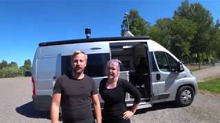 Full Time Van Dwellers from Finland, Europe, Joni and Sara