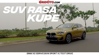 Download Video Tes Lengkap Kupe SUV BMW X2 sDrive18i M Sport X | Test Drive | GridOto MP3 3GP MP4