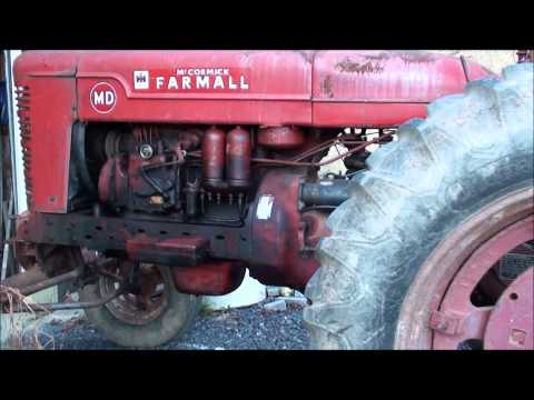 1950 Farmall MD Cold Start (35*)