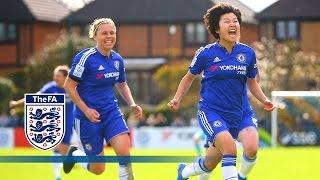 Video Chelsea Ladies 2-1 Manchester City Women (2015/16 FA Women's Cup SF) | Goals & Highlights MP3, 3GP, MP4, WEBM, AVI, FLV Juni 2018