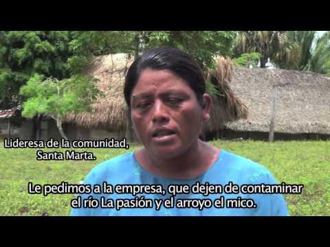 Ecocidio rio La Pasiòn 2015