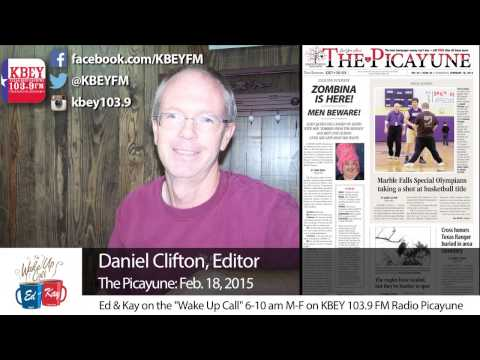 The Picayune Wednesday with Daniel Clifton: 2/18/15