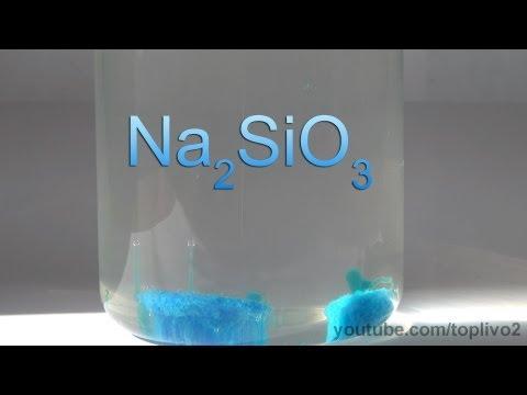 Жидкое стекло применение и свойства материала Видео демонстрирует некоторые свойства жидкого стекла