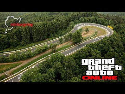 GTA Germany Map mod Nordschleife Circuit GTA 4 Online Pro cars
