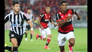 Flamengo 2 vs 4 Santos copa do Brasil mas Flamengo se classificou e #força ederson
