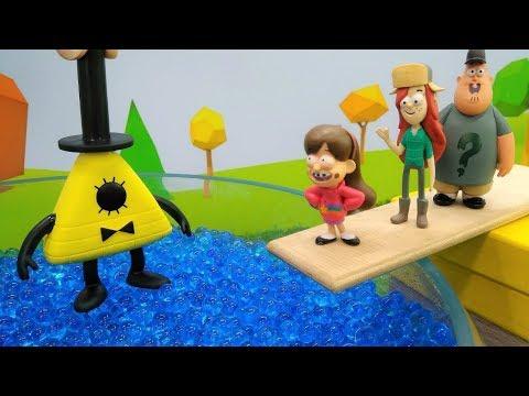Juguetes de Gravity Falls. La pócima mágica. Vídeos infantiles.